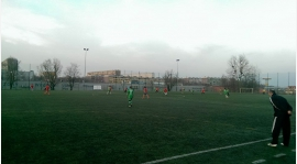 Mecz sparingowy z LKS Baranowice.