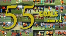 PerłaTV: ALL 55 GOALS   JESIEŃ   SEZON 2014/15 (WIDEO)