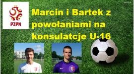 Marcin i Bartek z powołaniami na kosultacje kadry POLSKI U16