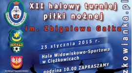 XII Halowy Turniej Piłki Nożnej Seniorów im. Zbigniewa Gałka