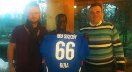 Nowy zawodnik Iskry Głogoczów