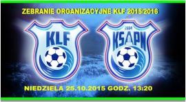 Zebranie organizacyjne KLF 2015/2016