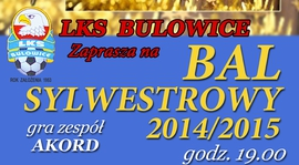 Bal Sylwestrowy 2014/2015