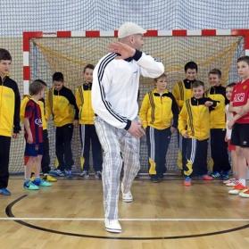 Trening capoeiry młodzików
