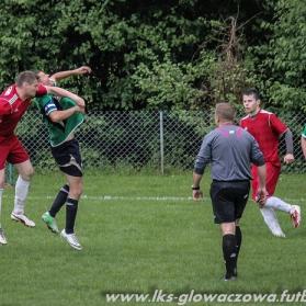 LKS Łęki Górne 1-0 LKS Głowaczowa