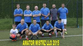 Amator mistrzem LLO 2015
