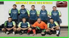 MAMY MISTRZA KLO 2014/2015
