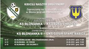 Rozkład na piłkarski weekend 23-24 Maja!