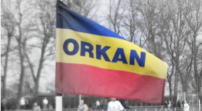 Sparing  drużyny  seniorów  klubu  MKS  Orkan