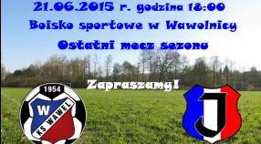 Ostatni mecz sezonu 2014/15