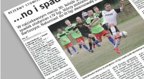 Gazeta Olsztyńska o meczu z Victorią
