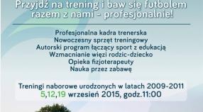 We wrześniu treningi naborowe szkółki piłkarskiej Orliki Myślenice