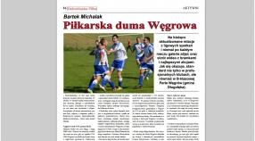 Dolnośląska Piłka pisze o piłkarskiej dumie Węgrowa!