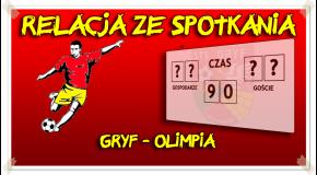 Gryf - Olimpia Miączyn 1:2 (0:1)