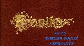 KRONIKA KORONY POGOŃ STAWISZYN - lata 1996-1999. cz.1