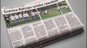 Gazeta Olsztyńska o meczu z Kozłowem