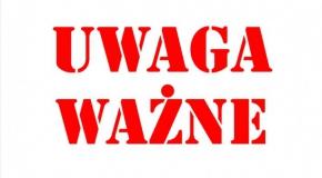 UWAGA!!!!! PONIEDZIAŁEK OBIE GRUPY NA 17.00