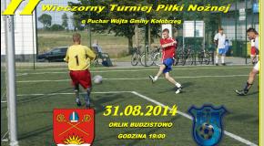 II Wieczorny Turniej Piłki Nożnej o Puchar Wójta Gminy Kołobrzeg.