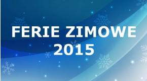 Ferie zimowe, Turniej 31.01.2015