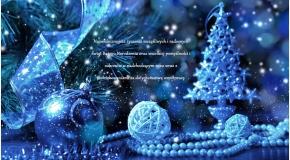 Wesołych Świąt oraz Szczęśliwego Nowego Roku.