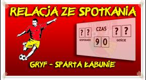 Gryf - Sparta Łabunie 5:1 (2:0)