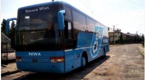Niwa się rozwija, mamy nowy autobus!