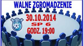 Walne Zgromadzenie KSAPN 30.10.2014.