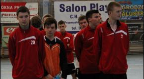 Piąte miejsce juniorów w Biłgoraju