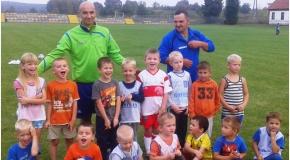 Pierwszy trening naszych najmłodszych piłkarzy