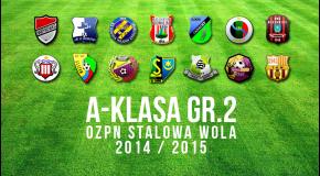 Sezon 2014/2015 - informacje