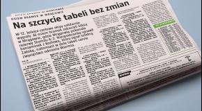 Gazeta Olsztyńska o meczu z Wikielcem