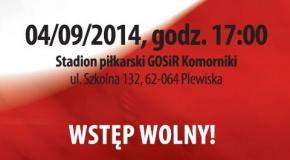 Mecz Reprezentacji Polski U-20 w Plewiskach!