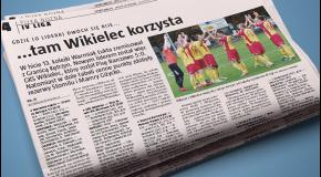 Gazeta Olsztyńska o meczu z Błękitnymi