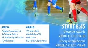 XXIII Międzynarodowy Halowy Turniej Piłki Nożnej Juniorów o Puchar Prezydenta Miasta Zabrze