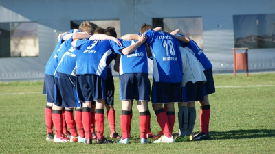 Juniorzy przegrywają mecz z Wojnowicami.