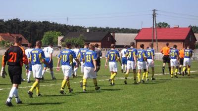 Liga: CKS Zbiersk - WKS Witaszyce