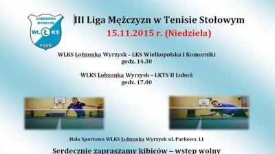 Puchar Polski oraz III liga w tenisie stołowym - zapowiedzi weekendowych spotkań