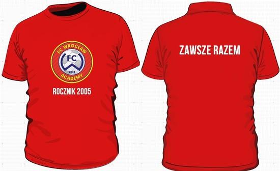 a9e4fef25 ... koszulki dla wszystkich kibiców naszego rocznika FC Wrocław Academy. W  tym sezonie zaplanowanych mamy mnóstwo turniejów halowych - fajnie by było  ubrać ...