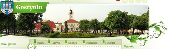 Strona www.gostynin.pl