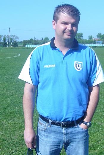 W meczu ze Strażakiem Górna Grupa jako trener Zawiszy II zadebiutował Marcin Maćkowski (na zdjęciu).